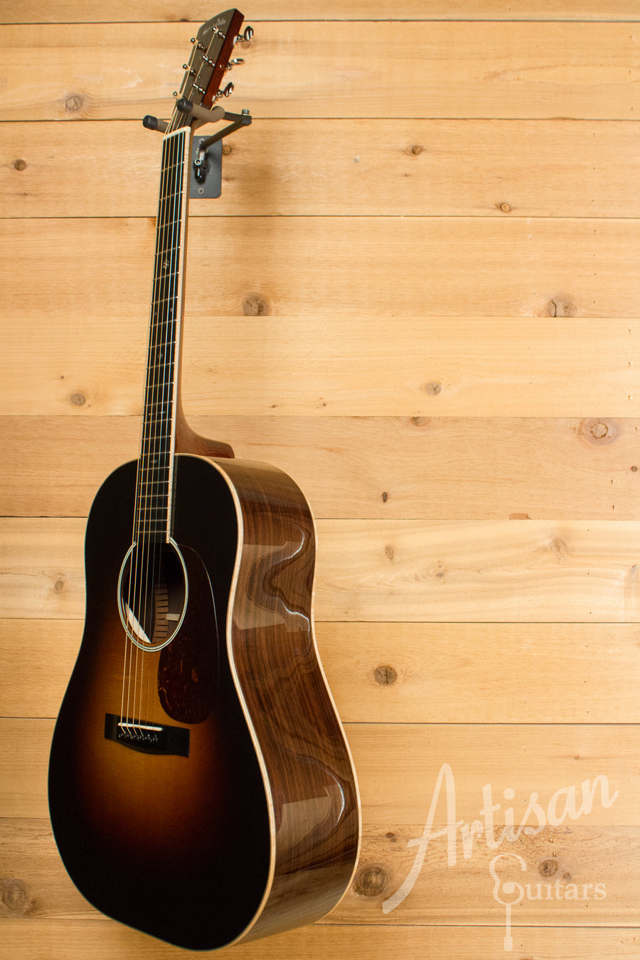Huss and Dalton DS Sitka Spruce and Indian Rosewood Pre-Owned 2012 ID-11036 - Artisan Guitars