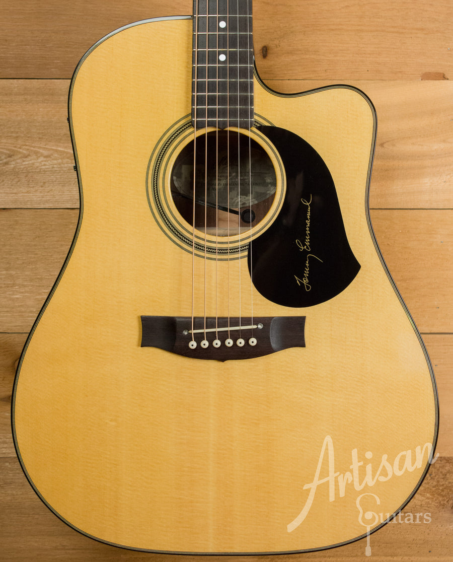 Maton TE1 Guitar Tommy Emmanuel Artist Sitka Spruce and Indian Rosewood AP5 Pro Pre-Owned 2014 ID-11174 - Artisan Guitars