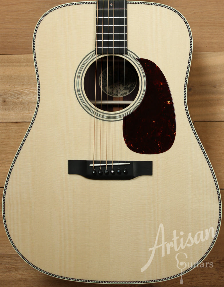 Collings D2HG German Spruce and Indian Rosewood with Adirondack Braces and no Tongue Brace ID-9526