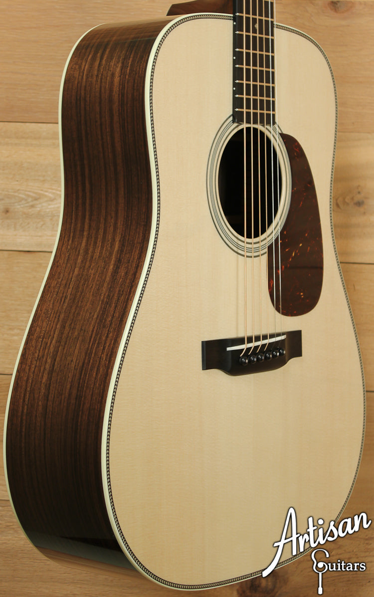 Pre Owned 2013 Collings D2HG German and Indian Rosewood with Adirondack Braces and Vintage Now Neck and Bridge ID-7159 - Artisan Guitars
