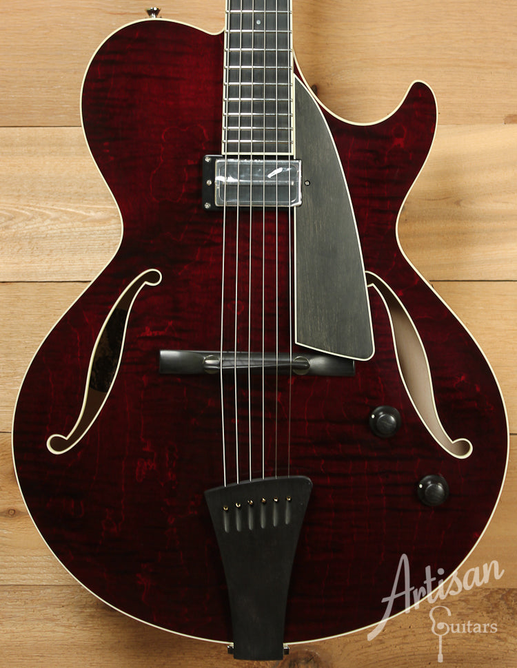 Collings Eastside LC Deluxe with Merlot Finish and Charlie Christian Pickup ID-7962 - Artisan Guitars