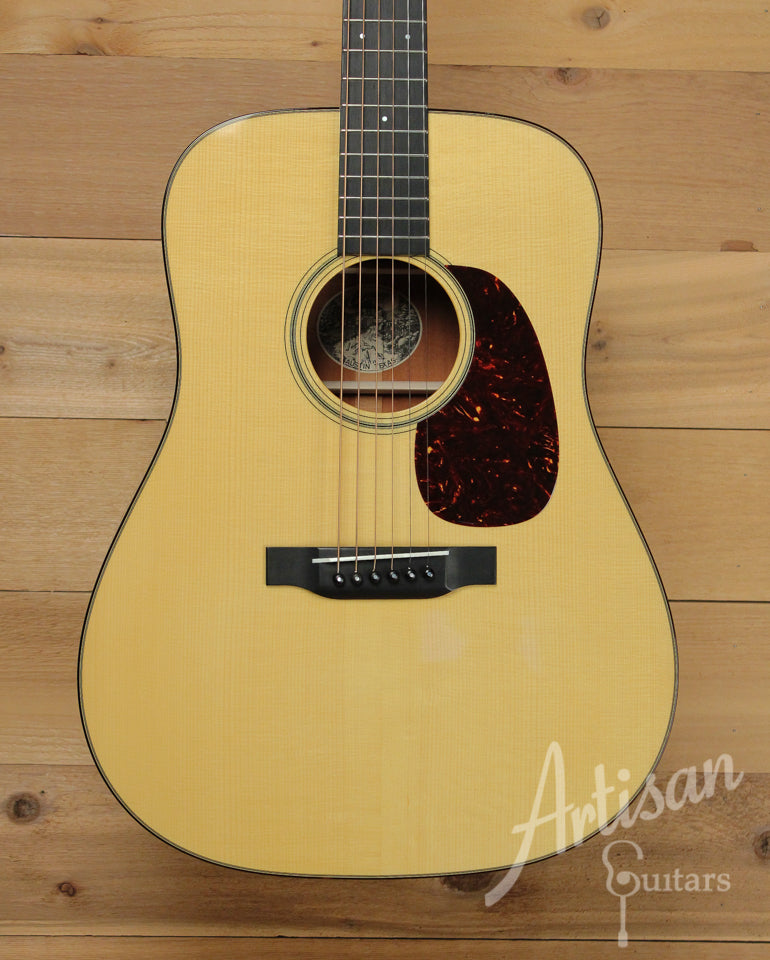 Pre Owned 2014 Collings D1A Guitar VN Varnish Adirondack and Mahogany with Vintage Now Neck and Varnish ID-10044