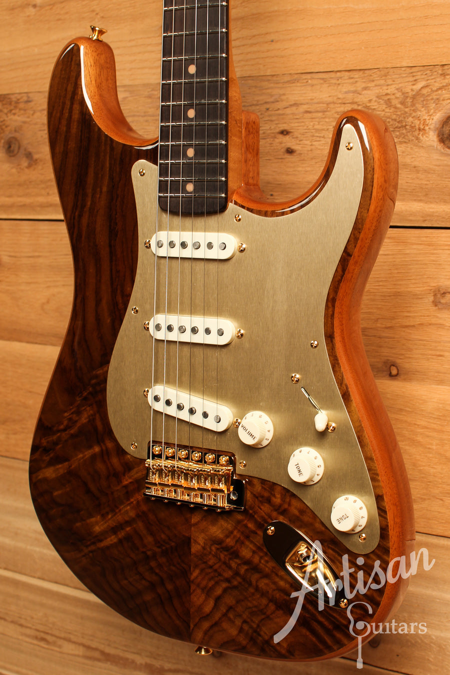 Fender Custom Shop Artisan Collection Stratocaster Figured Rosewood ID-11157 - Artisan Guitars