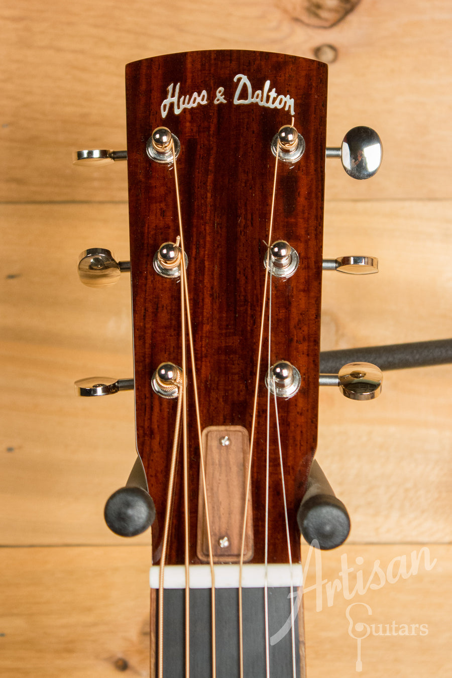 Huss and Dalton Custom 00 Engelmann and Cocobolo with K&K Pre-Owned 2013 ID-11111 - Artisan Guitars