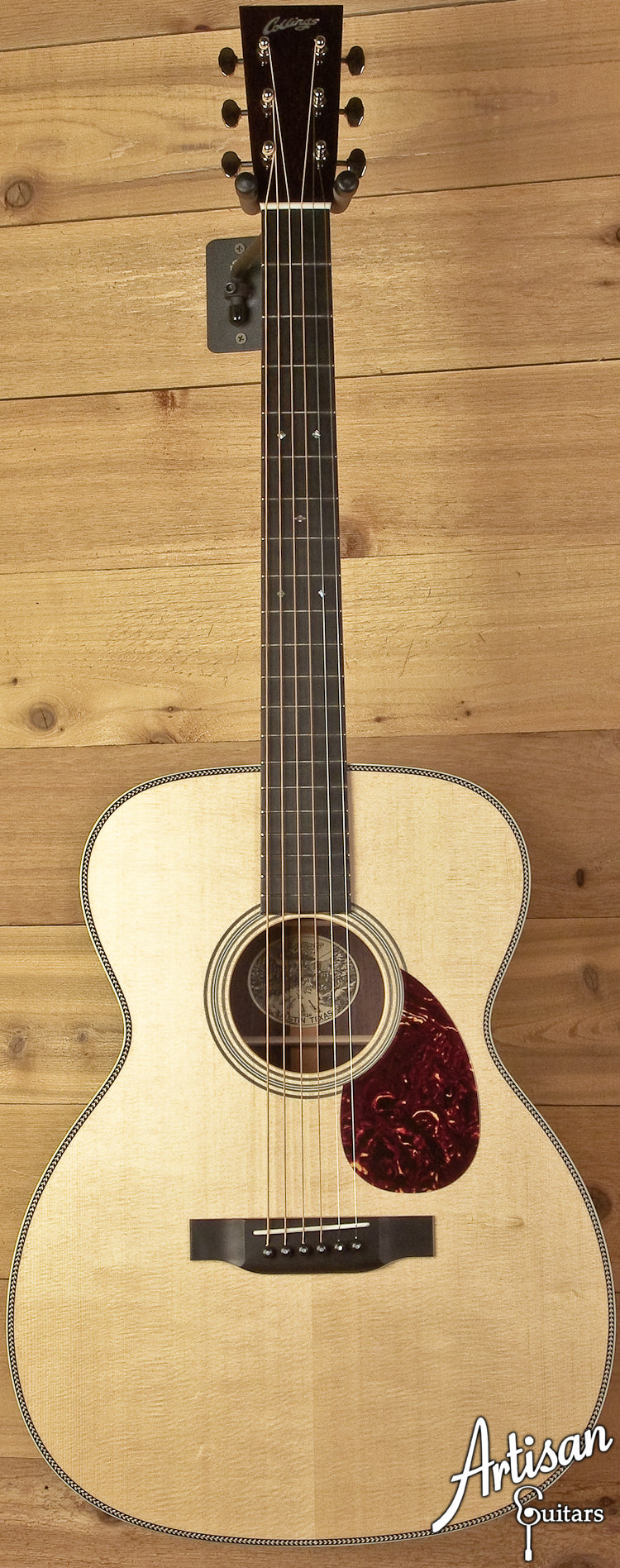 Collings OM2H Sitka Spruce and Indian Rosewood ID-5915 - Artisan Guitars