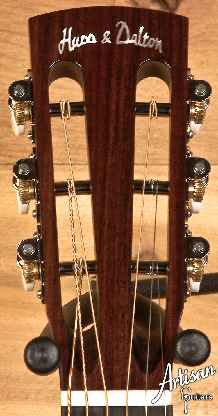 Huss and Dalton 00-SP European Spruce and Indian Rosewood ID-5918 - Artisan Guitars