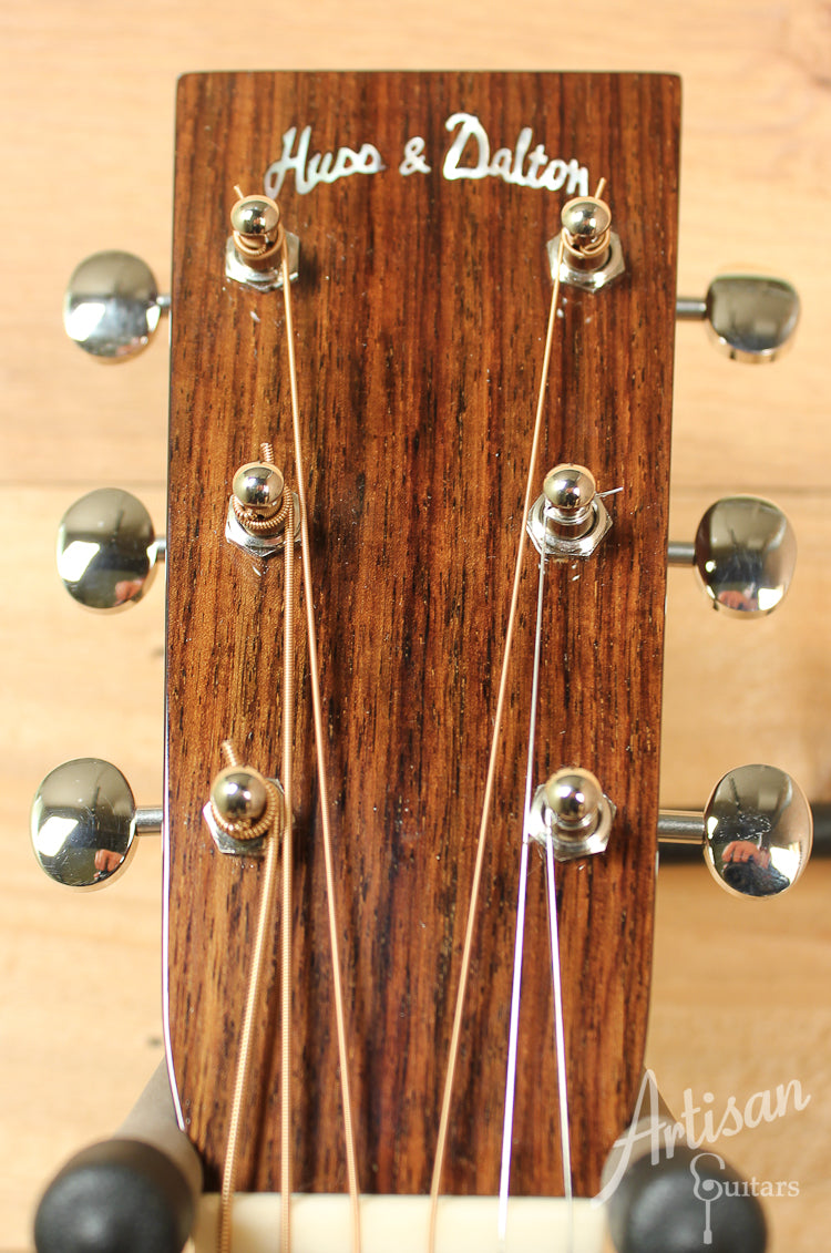 2011 Huss and Dalton TD R Custom Sitka Spruce and Indian Rosewood ID-8138 - Artisan Guitars