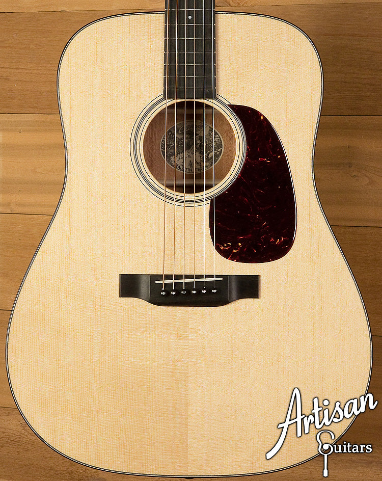Collings D1 Sitka and Mahogany with Adirondack Bracing and No Tongue Brace ID-6110 - Artisan Guitars