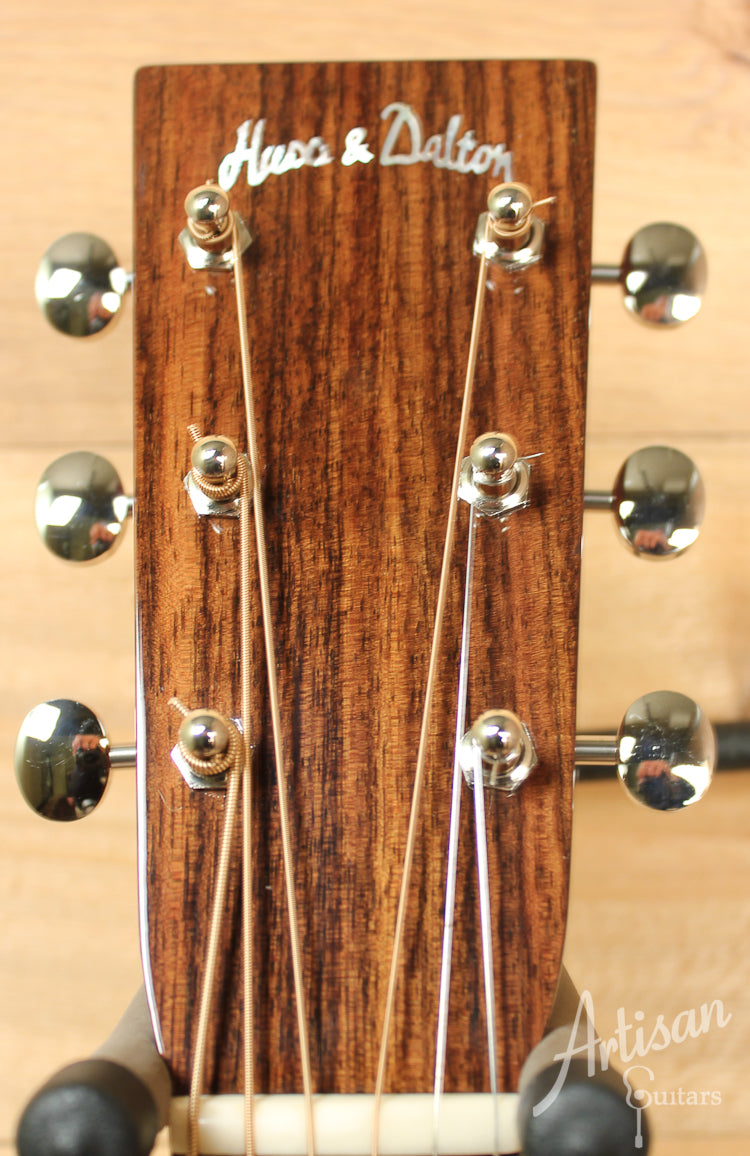 Pre Owned 2011 Huss and Dalton TD M with Sitka Spruce and Mahogany ID-8139 - Artisan Guitars