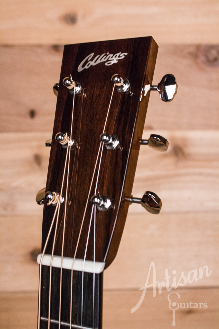 Collings 02H Guitar Baked Sitka Top and Indian Rosewood  ID-10486