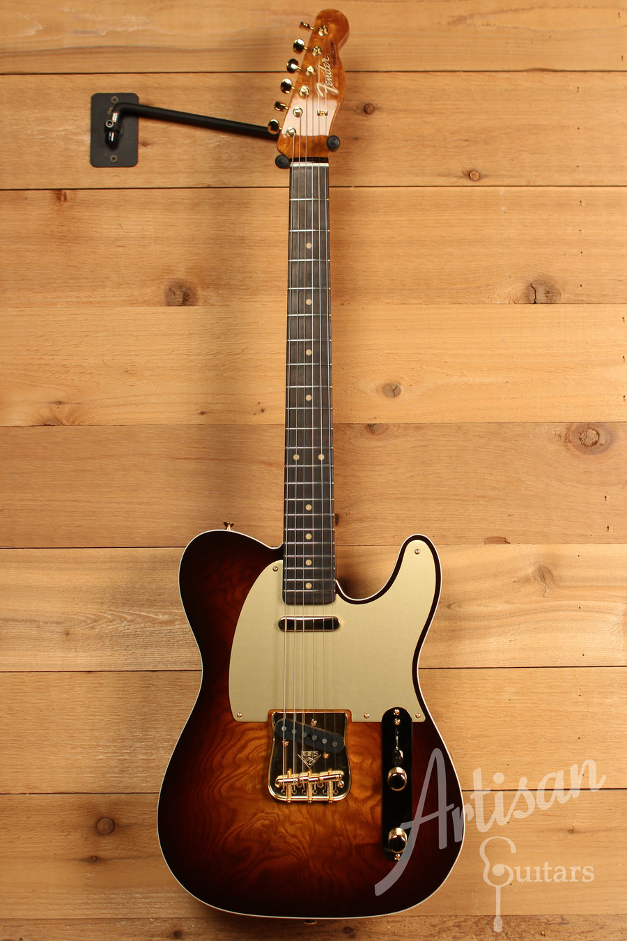 Fender Custom Shop Artisan Collection Telecaster Tamo Ash with Chocolate Fade Finish ID-11158
