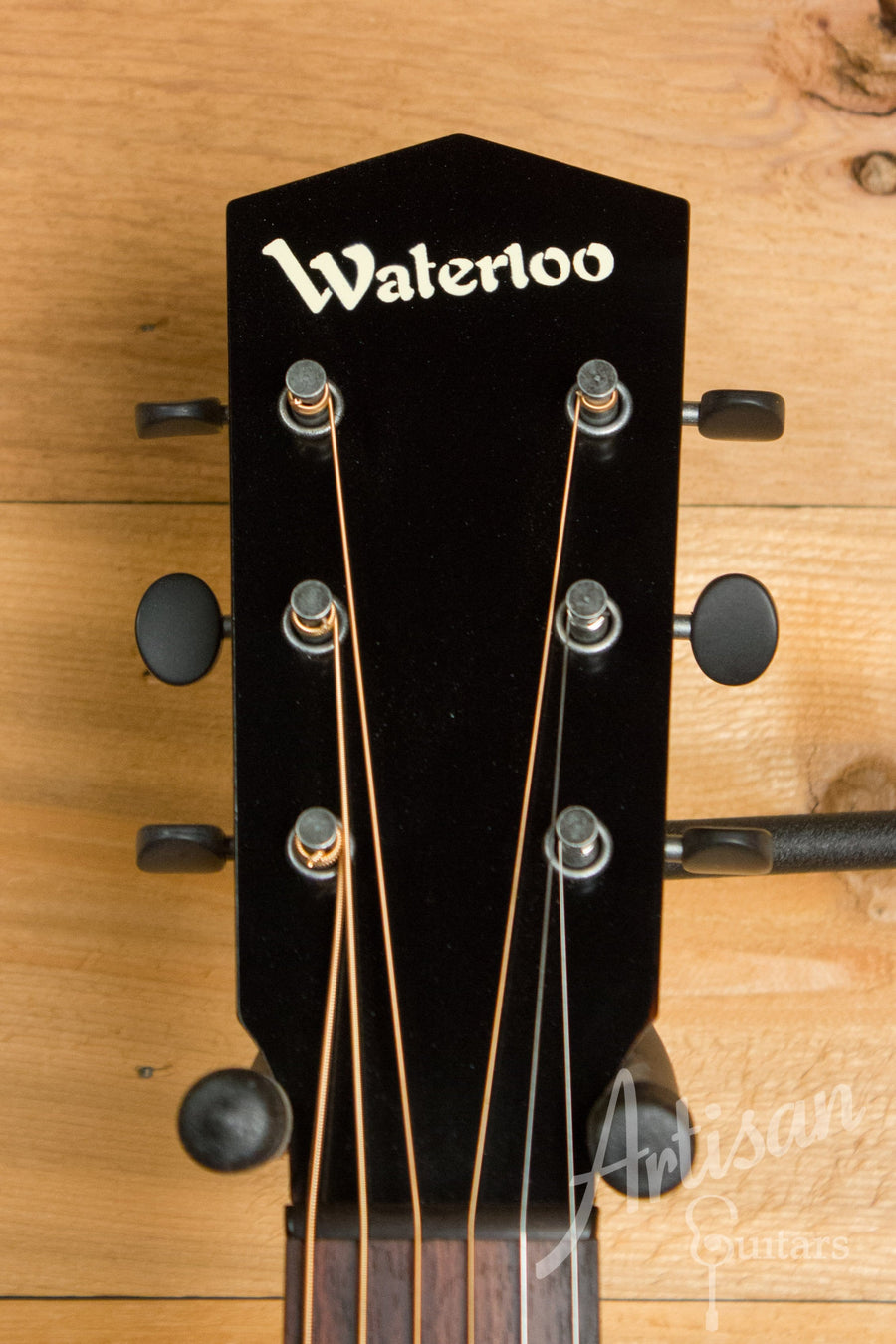 Waterloo WL-12X Maple Guitar with Truss Rod and Sunburst Finish ID-10944 - Artisan Guitars
