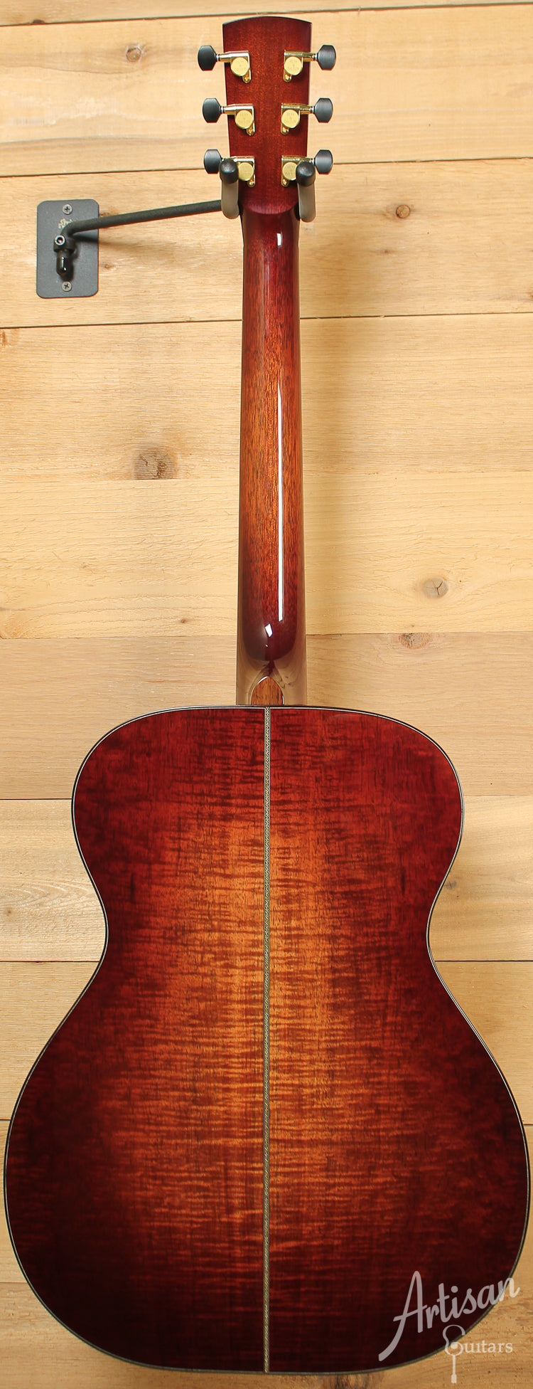 2011 Huss and Dalton Custom OM European Spruce and Australian Blackwood ID-8085