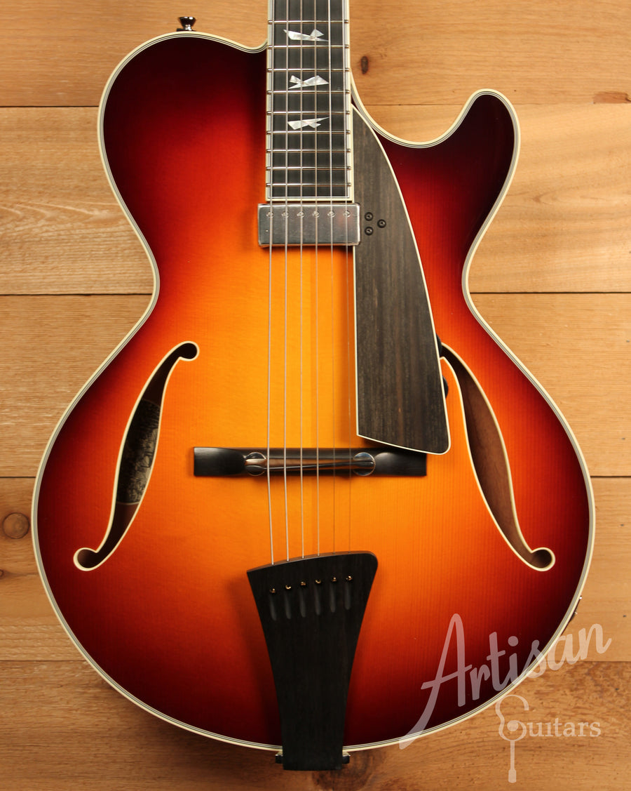Collings City Limits Jazz Guitar Archtop Tobacco Sunburst ID-10966 - Artisan Guitars