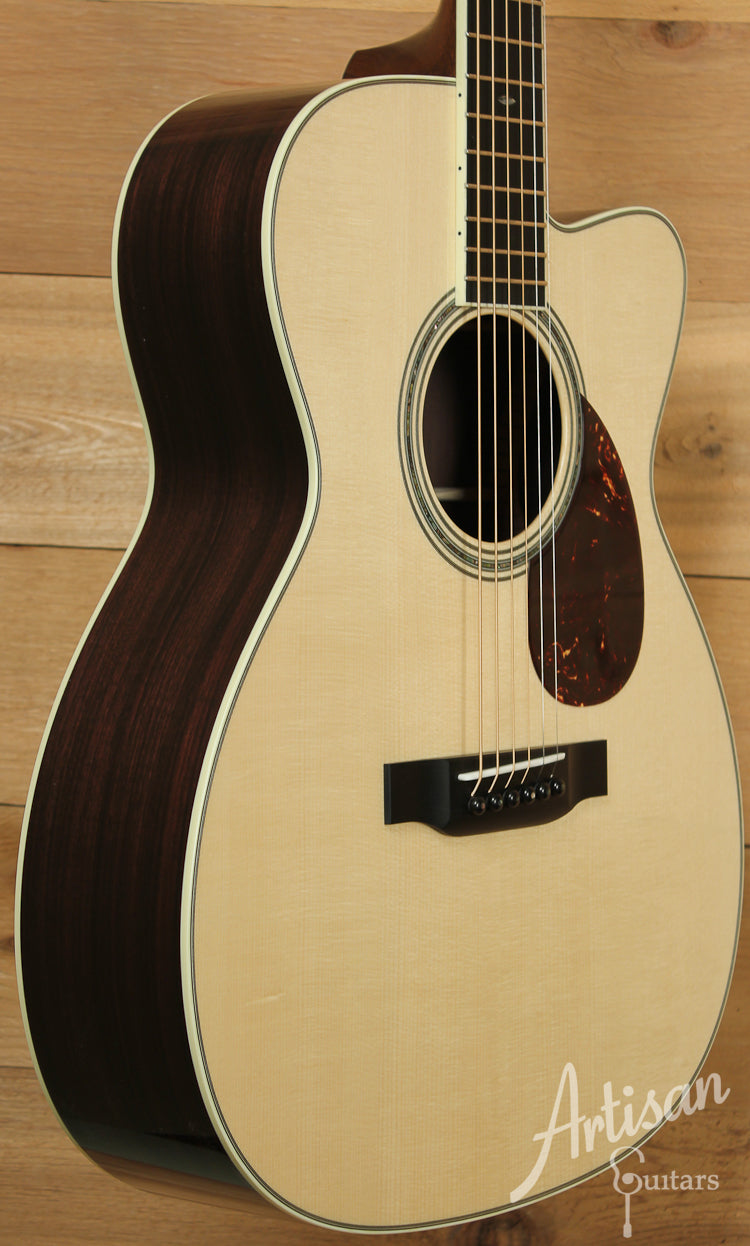 Collings OM3 A Adirondack and Indian Rosewood with 42 Style Appointments and Cutaway ID-7688