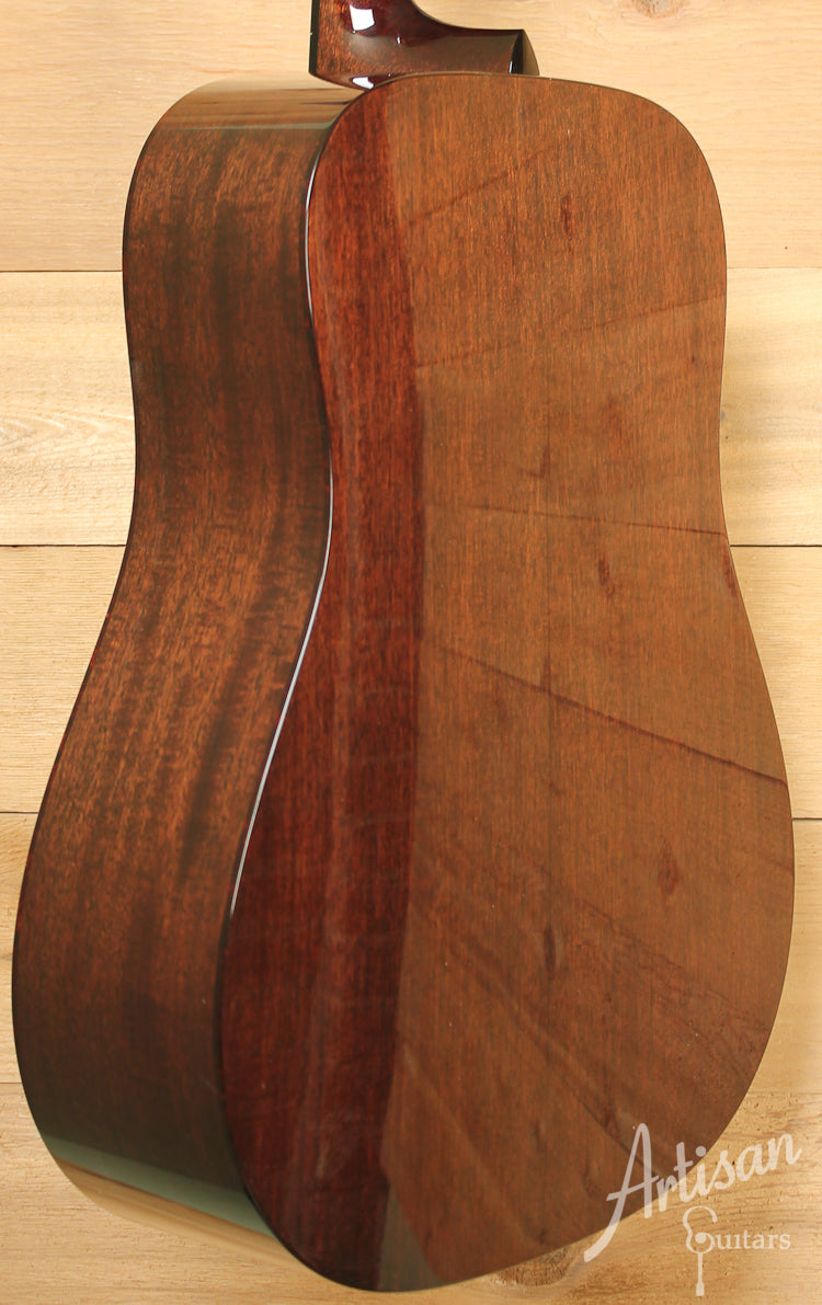 Collings D1 G German Spruce with Mahogany with Adirondack Braces and Dark Vintage Sunburst ID-8543
