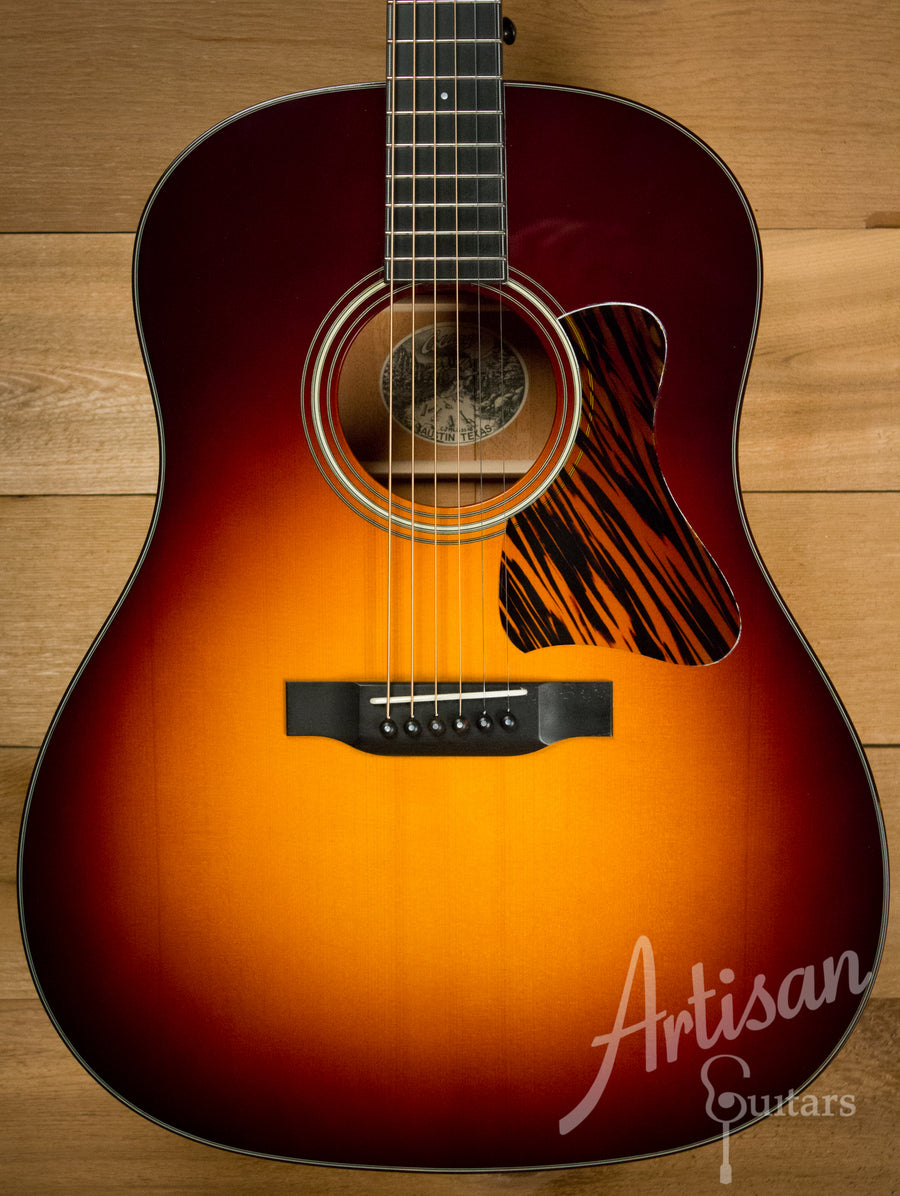 Collings CJ Mh G SS SB Guitar Short Scale with Sunburst Pre-Owned 2013 ID-10414 - Artisan Guitars