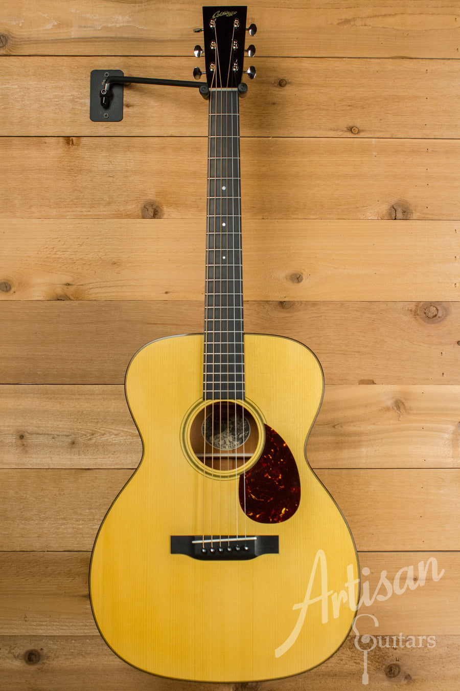 Collings OM1 A VN Custom Adirondack Spruce and Mahogany with Adirondack Braces and Varnish Finish Pre-Owned 2013 ID-11074 - Artisan Guitars