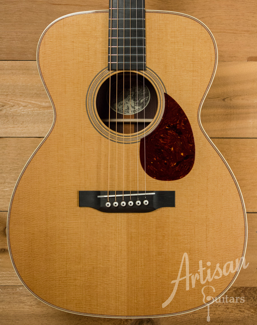 Collings OM2H T Baked Sitka and East Indian Rosewood Back and Sides ID-10597 - Artisan Guitars