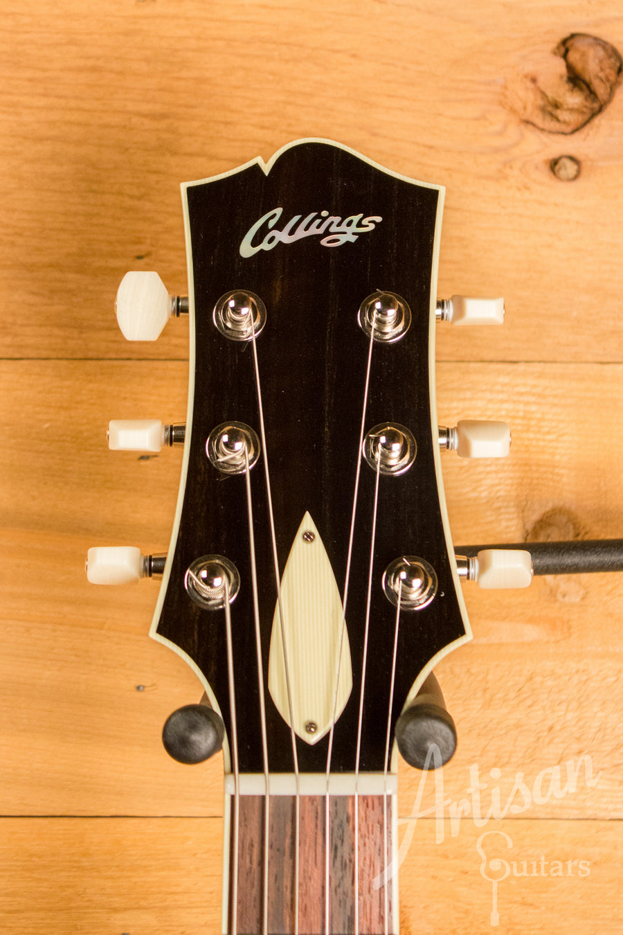 Collings I 35 Deluxe Guitar Tobacco Sunburst and Dual Lollar Low Wind Imperial Humbuckers ID-10825 - Artisan Guitars