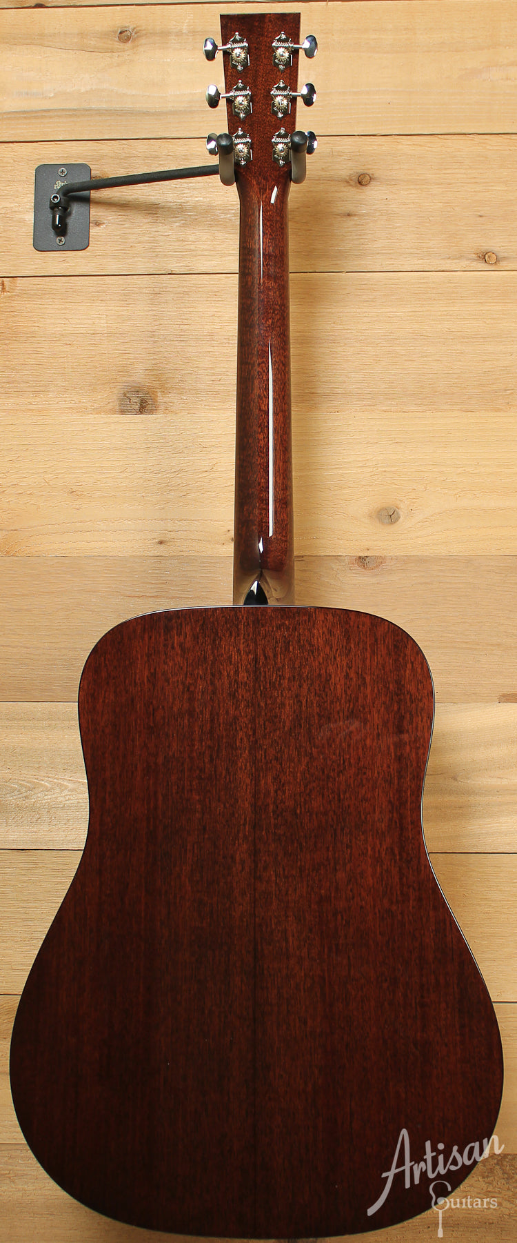 Collings D1 G German Spruce with Mahogany with Adirondack Braces and Dark Vintage Sunburst ID-8543 - Artisan Guitars
