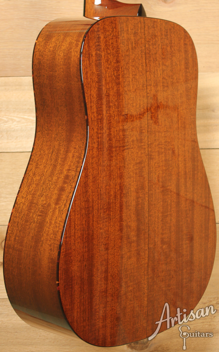 Collings D1A VN Varnish Adirondack and Mahogany with Vintage Now Neck and Varnish ID-7435 - Artisan Guitars