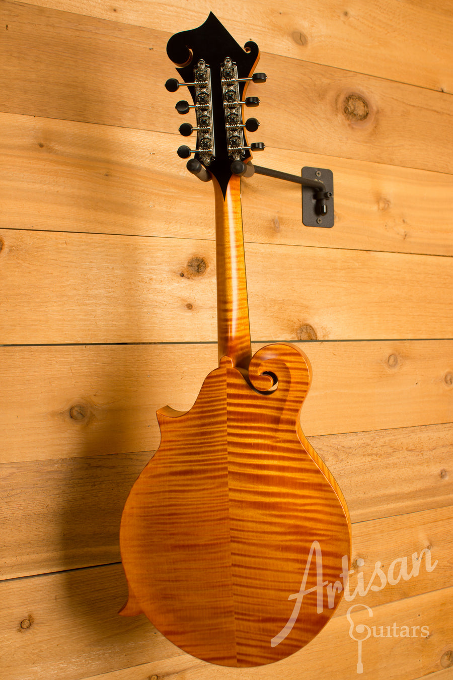 Collings MF Mandolin Honey Amber Gloss Top with Tortoise Binding ID-10977