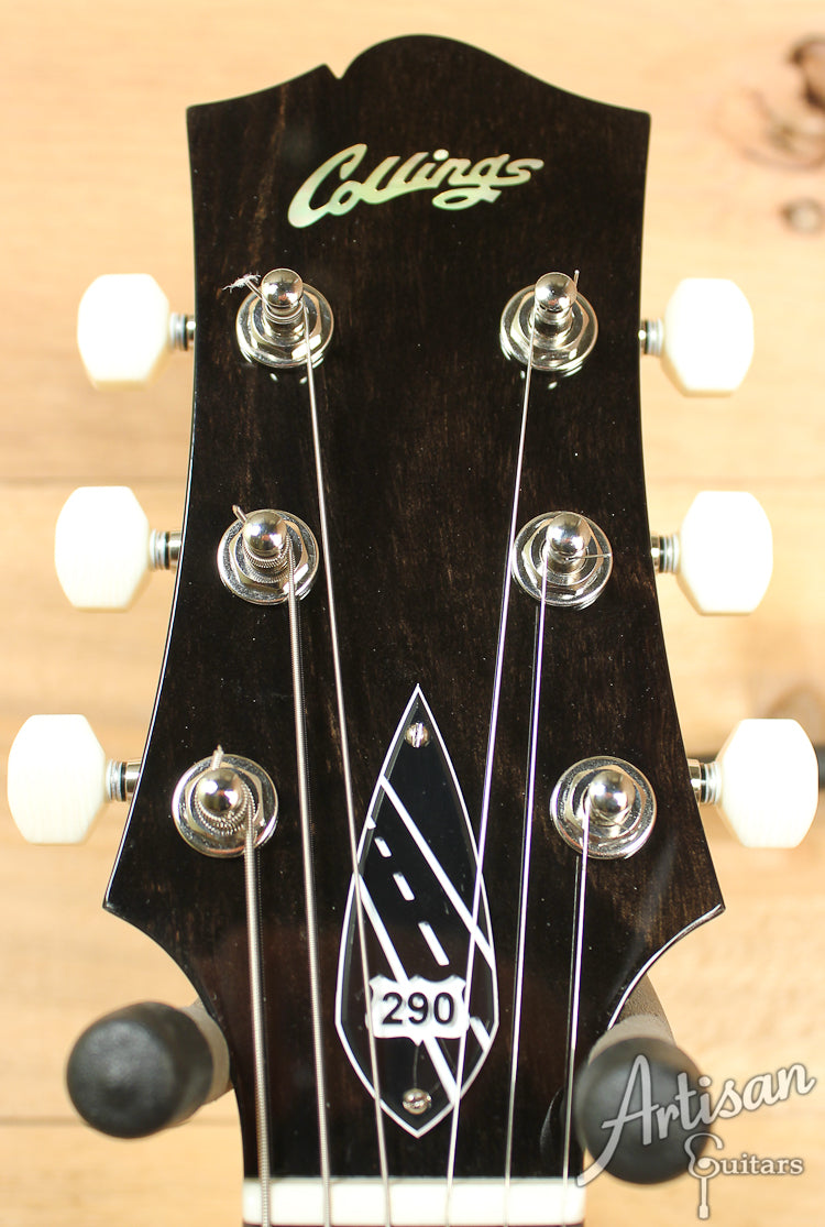 Collings 290DC Double Cutaway Jet Black ID-7513