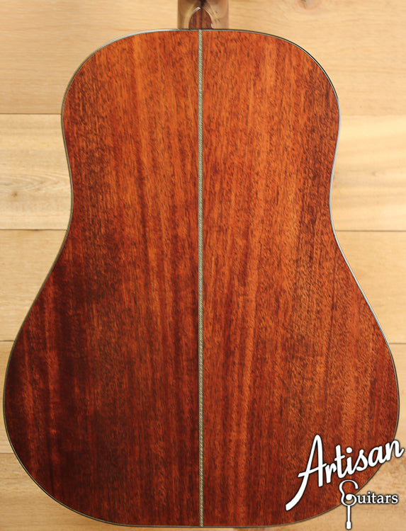 Huss and Dalton DS Custom Red Spruce and Sinker Mahogany ID-6944