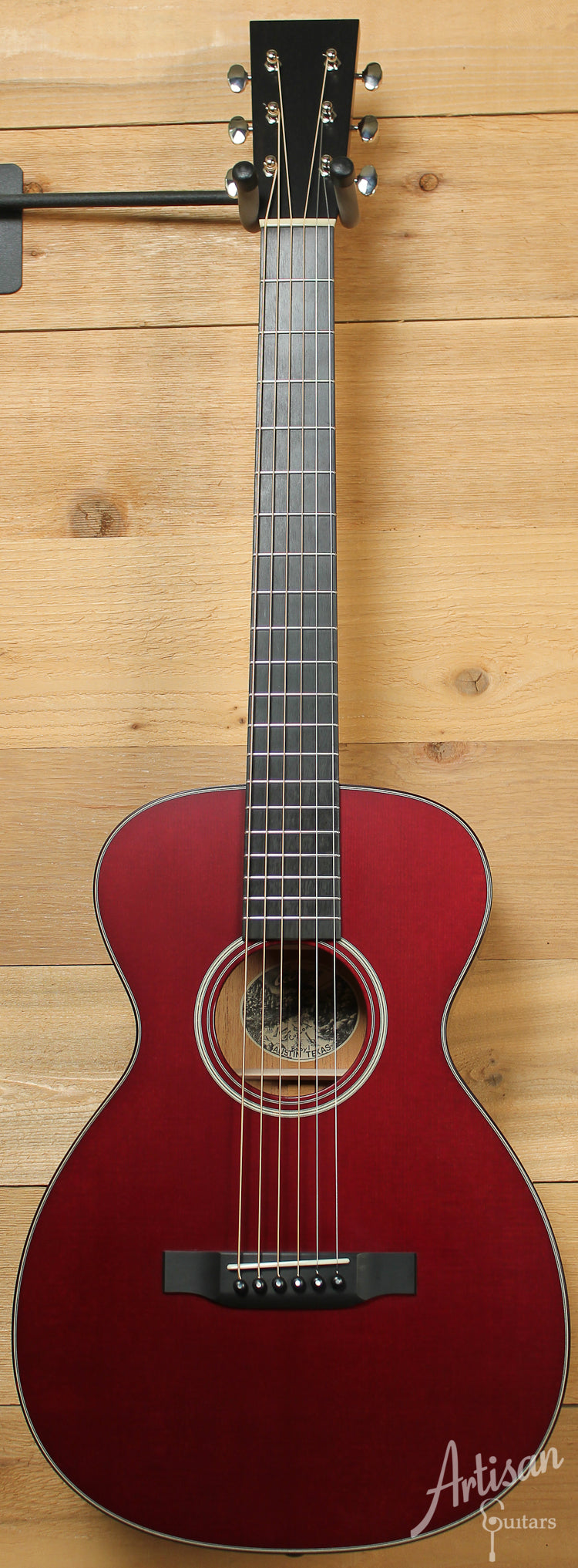 Collings Baby 1 Sitka Spruce and Mahogany with Custom Merlot Top and Full Satin Finish ID-8151 - Artisan Guitars