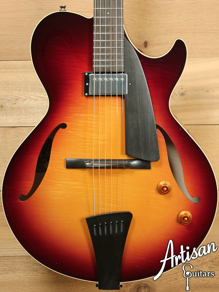 Pre Owned 2013 Collings Eastside LC Maple Tobacco Sunburst ID-7144 - Artisan Guitars
