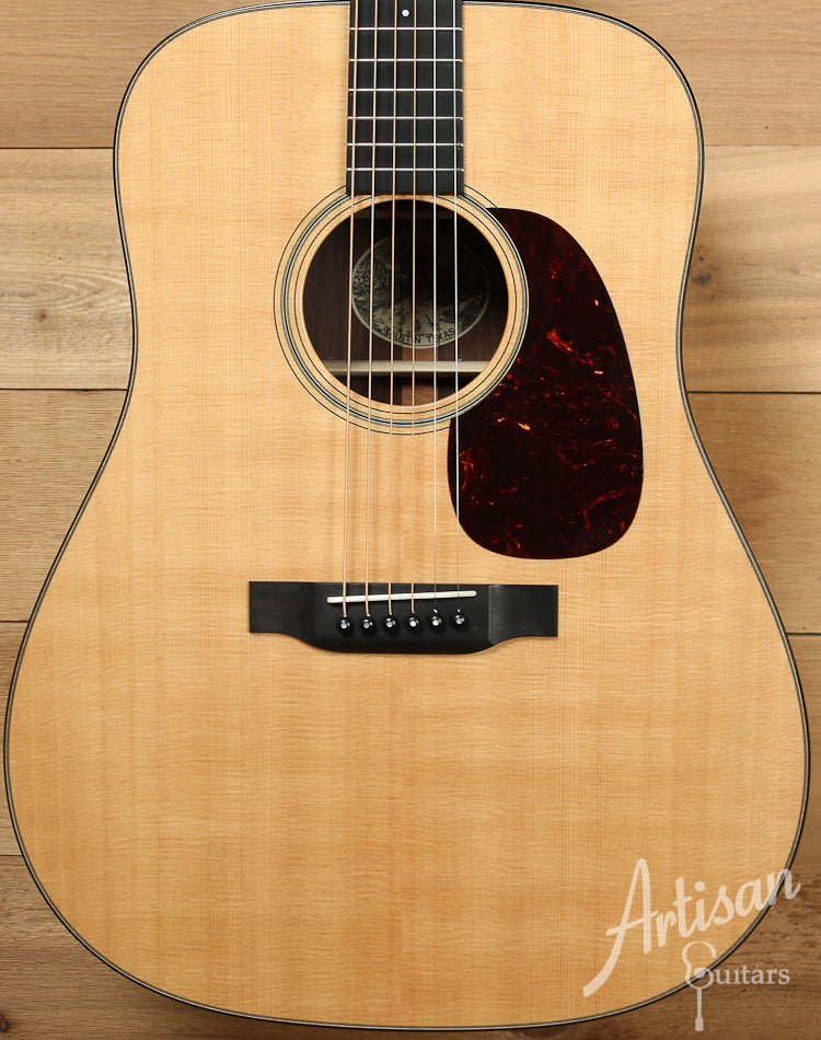 Pre Owned 2013 Collings D1 Indian Sitka Spruce and Indian Rosewood with Adirondack Braces ID-8060 - Artisan Guitars