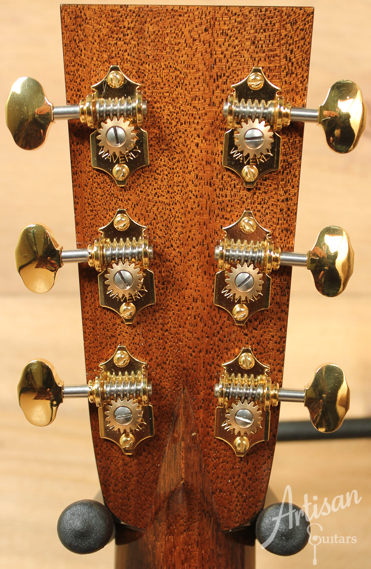 Collings OM3 A Adirondack and Indian Rosewood with 42 Style Appointments and Cutaway ID-7688 - Artisan Guitars