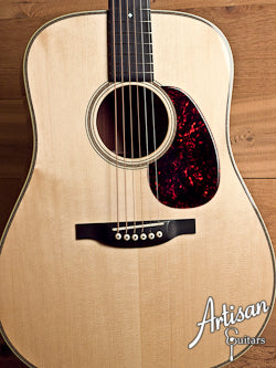 "2008 Bourgeois Vintage D Adirondack and ""Panama Red"" Rosewood NAMM '08 Series #3 of 8 ID-5449 - Artisan Guitars"