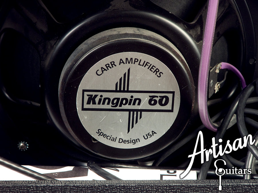 2004 Carr Amplifiers Slant 6V 1x12 Combo Amp with Kingpin 60 Speaker ID-5416 - Artisan Guitars