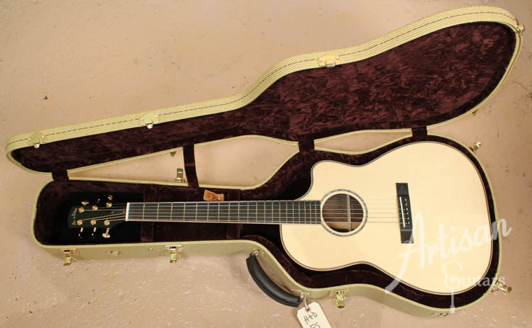 Pre Owned 2013 Huss and Dalton FS Engelmann Spruce and Indian Rosewood ID-7100