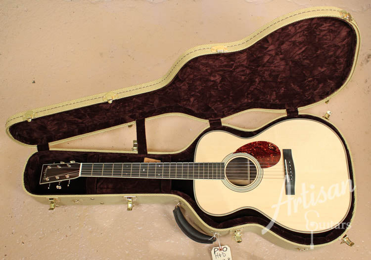 Pre Owned 2013 Huss and Dalton TOM R Custom Red Spruce and Indian Rosewood ID-7132 - Artisan Guitars