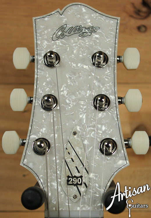 Collings 290 Doghair with ThroBak P90 Pickups and Bigsby Tremolo ID-7041 - Artisan Guitars