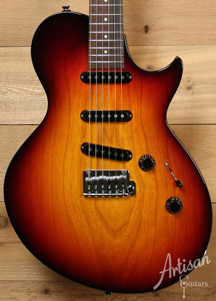 Collings 360 ST Ash Electric Guitar Tobacco Sunburst with Lollar Blackface Pickups ID-8198
