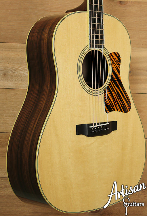 Collings CJ Adirondack Spruce and Indian Rosewood with Varnish Finish ID-6973 - Artisan Guitars