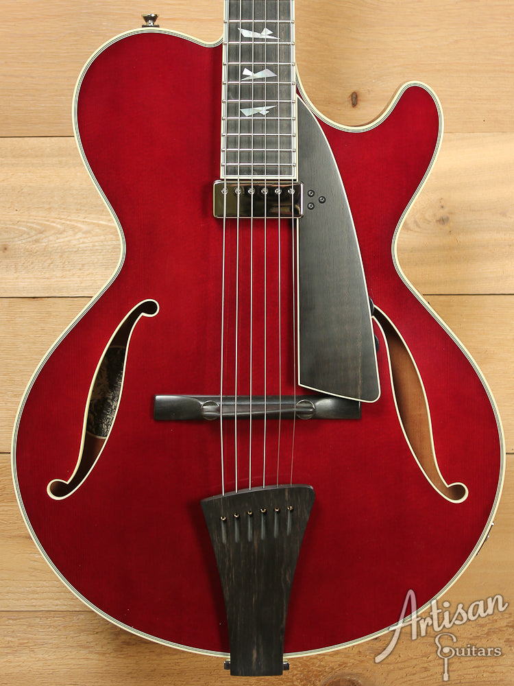 Collings City Limits Jazz Merlot Finish with Broken Glass Inlays ID-7316