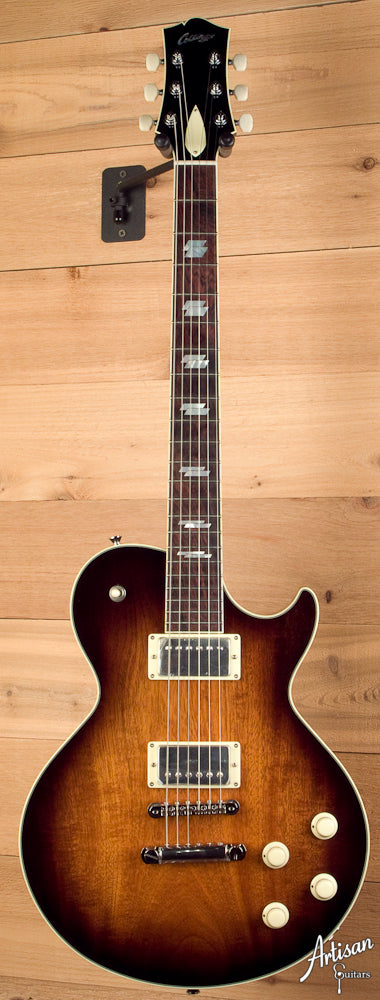 Collings City Limits Deluxe Custom Tobacco Sunburst ID-5159 - Artisan Guitars