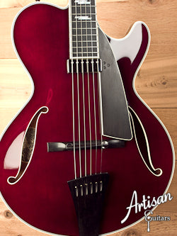 Collings City Limits Jazz Thinline Archtop Merlot Finish Lollar Johnny Smith-Style Pickup ID-5440