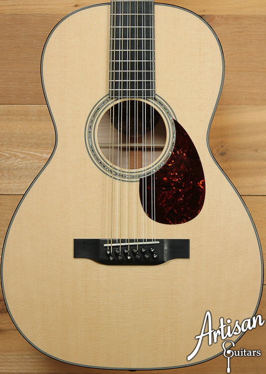 Collings Custom 03 12 Fret 12 String with Sitka Spruce and Flamed Maple ID-6992