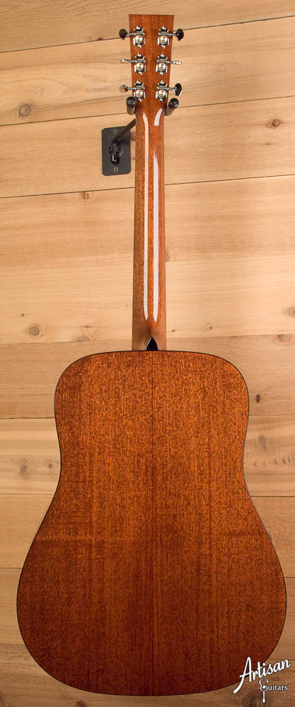 Collings D1A Adirondack Spruce and Mahogany with No Tongue Brace ID-5207 - Artisan Guitars