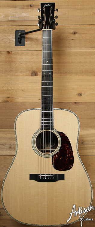 Pre Owned 2013 Collings D2H Herringbone Sitka Spruce and Indian Rosewood ID-8218 - Artisan Guitars