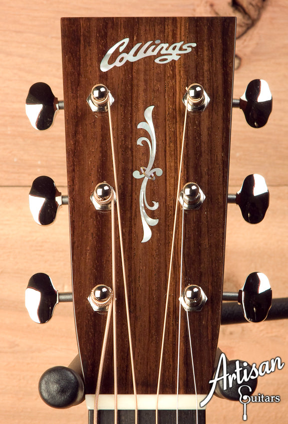 Collings D2H Sitka Spruce and Indian Rosewood with Flourish Headstock Inlay ID-5619