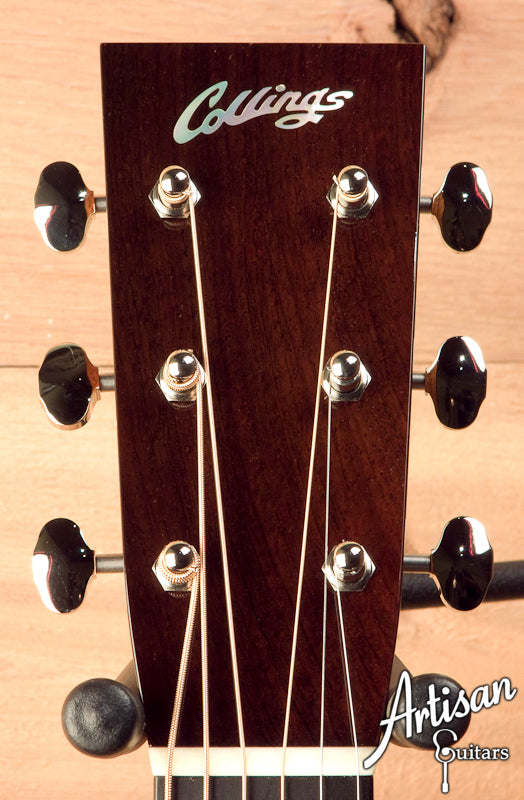 Collings D2H Custom Sitka Spruce and Indian Rosewood No Tongue Brace and Adirondack Bracing ID-5635