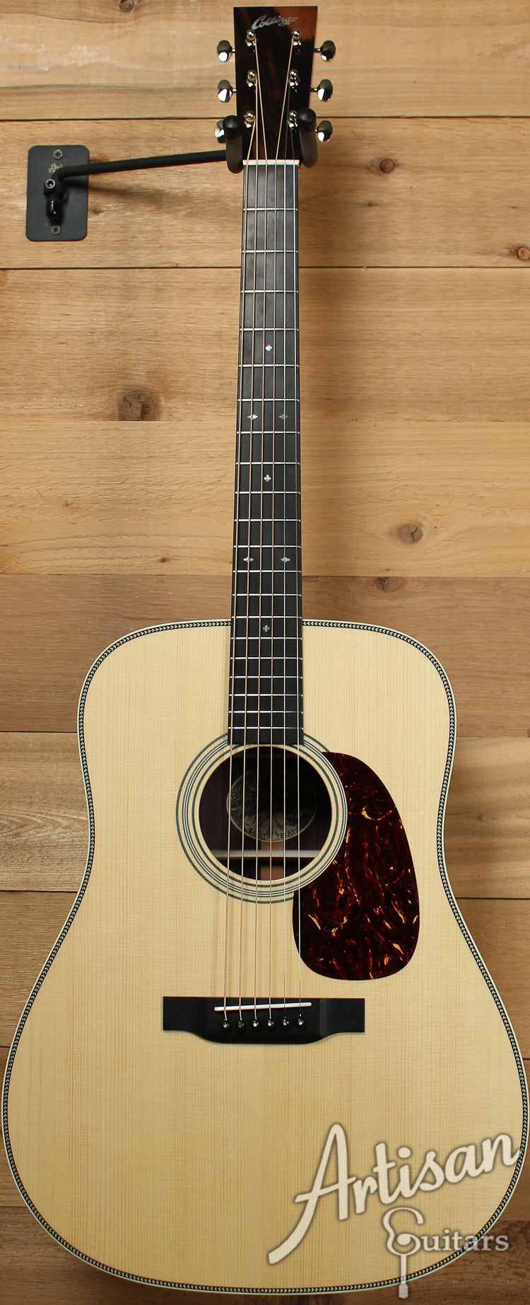 Pre Owned 2013 Collings D2HA Adirondack Spruce and Indian Rosewood with Adirondack Braces ID-7332 - Artisan Guitars