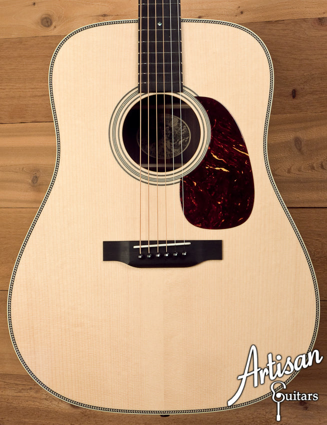 Collings D2HA Adirondack Spruce and Indian Rosewood No Tongue Brace and Adirondack Bracing ID-5666 - Artisan Guitars